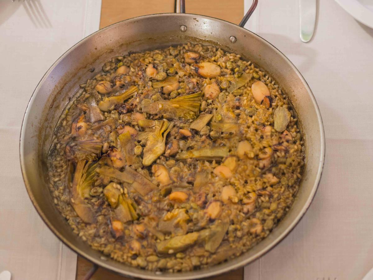 Рис с чопитос. Ресторан Марина Вентура.